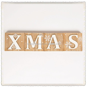 Christmas Xmas Decoration Gift Personalised Wooden Letter Buy Decorative Wooden Letterssmall Wood Letterswooden Letters For Christmas Decoration