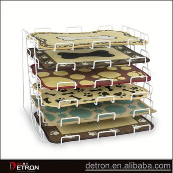Metal Wire Mat Display Rack Buy Mat Display Rack Metal