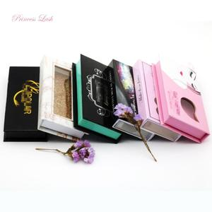 3d mink lashes drop shipping custom eyelash packaging box plastic lash tray