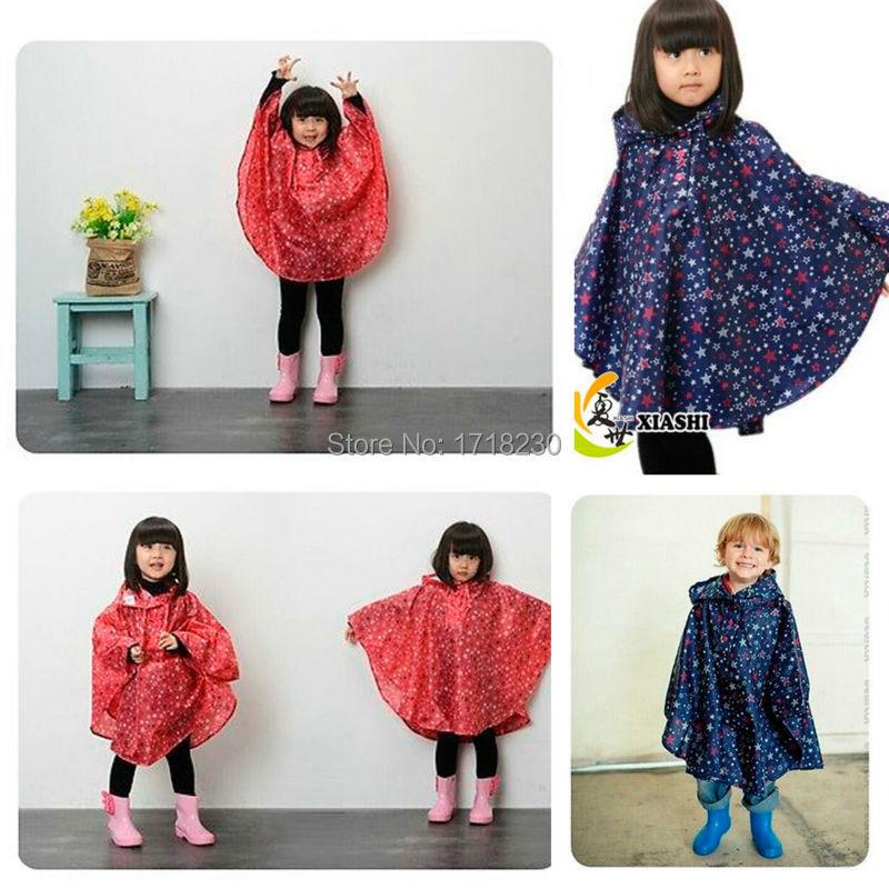 Дети дети дождь верхней одежды пальто водонепроницаемый плащ спорта на открытом воздухе дождевики плащ