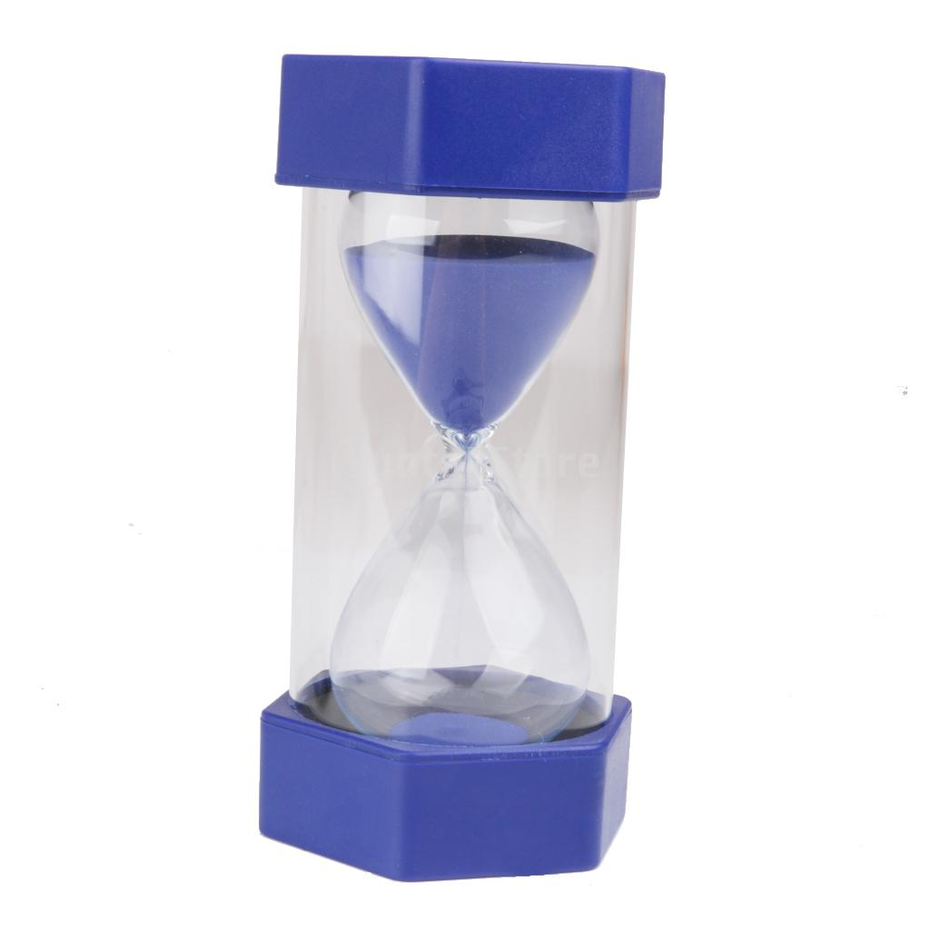2018 security fashion hourglass 60 minutes sand timer blue from