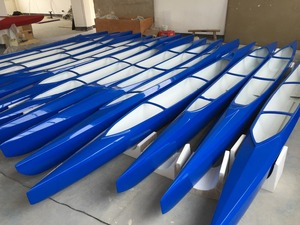 Plastex model C1 Fighter 200m and 1000m for canoe sprint beginners