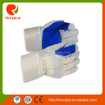 Wholesale China Products Rugged Wear Work Leather Safety Gloves