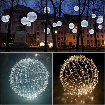 Led Christmas Lights White.Large Outdoor Christmas Balls Lights Warm White Giant Led Christmas Ball For Shopping Center Decoration Buy Large Outdoor Christmas Balls