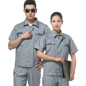 Costom Made Logo Construction Workwear Unisex Worker Work Uniform