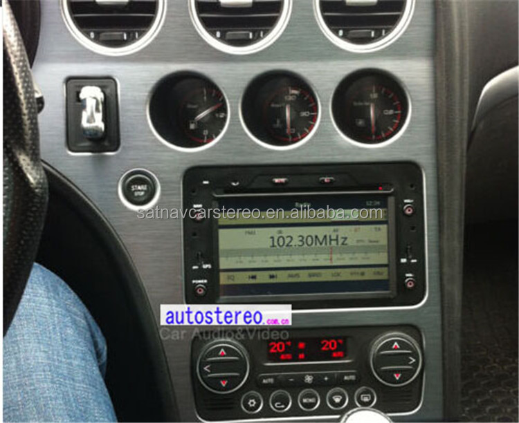 Autostereo Car Enteretainment System for Romeo Spider Central Multimedia Satnav BT PIP Ipod MP3 Player