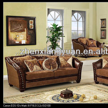 2019 Living Room Furnitures Royal Classic Sofa Fabric Sofa Sets
