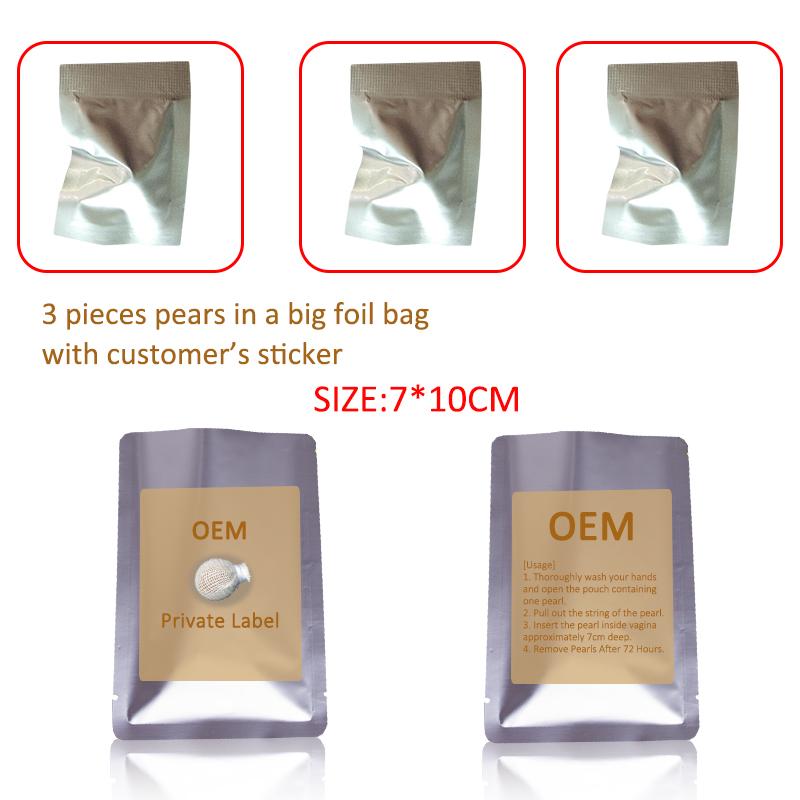 Original Herbal hot sale detox pearls clearing tampons Yoni Detox pearls