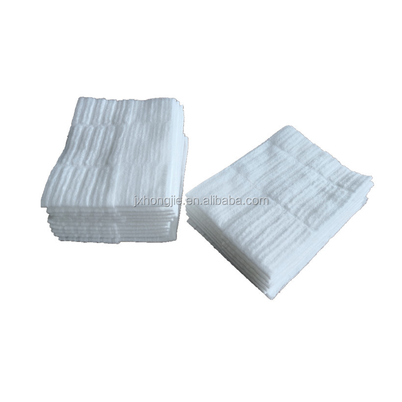 High quality shutter embossed nonwoven floor cleaning wipe