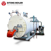 Textile Mill / Food Industry / Garment Factory Used Fire Tube Automatic 1- 20 ton Industrial Oil Gas Fired Steam Boiler Price