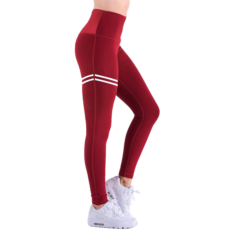 Frauen Hohe Taille Kompression Yoga Strumpfhosen Fitness Yoga Leggings