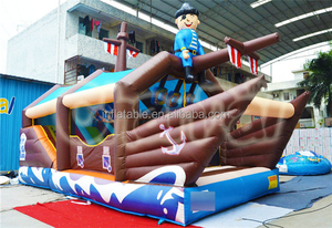 Inflatable boat bouncer ,combo for children