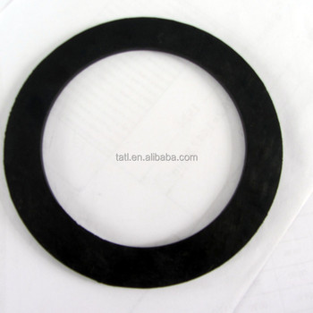 anti-shock durable Round Flat Rubber Gasket, View silicone rubber ...