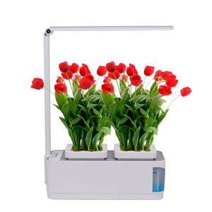smart barco jardin garden led hydroponic pot plante carrot growing container flowerpot