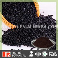 Direct manufacture anti-oxidation black soybean hull extract