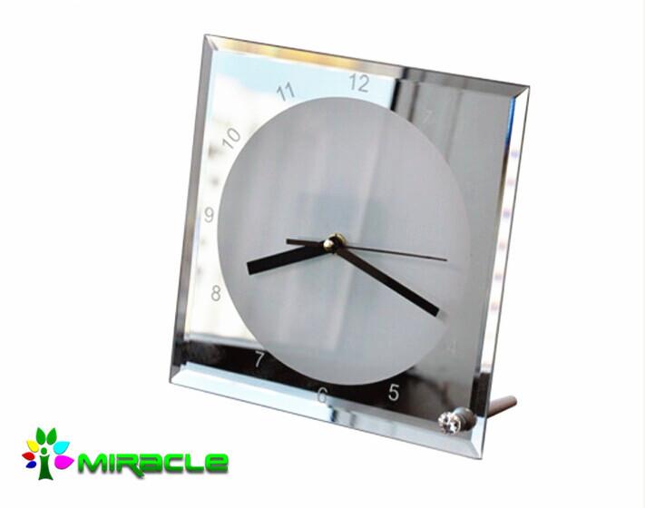 Sublimation Crystal Clock Buy Sublimation Crystal Clock