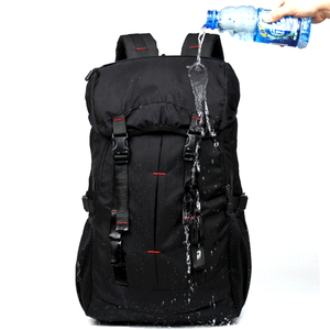 Youth Outdoor Waterproof Hiking Backpack With Rain Cover on the top