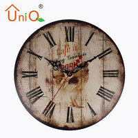 M1209 retro flip clock gift wall clock for decorative