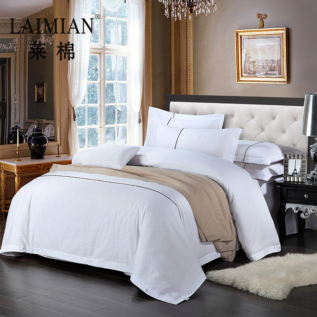 Newly Anti Dust Mite Bed Cover Sheet /stain Bed Sheet Bedding Set For Hotel