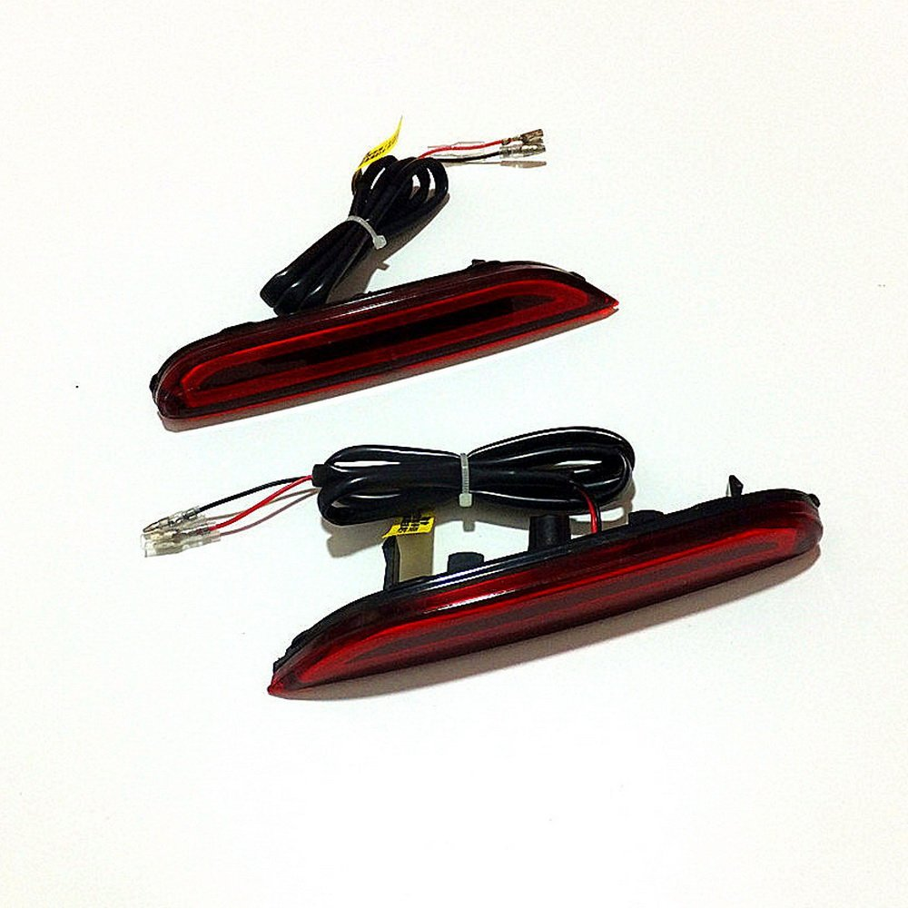 July King LED Light Guide Brake Lights Night Driving Lights Turn Signal Light for Infiniti Q30 2016+, Q50 2014+, Q60 Q70 Q70L QX80 2015+, Safety Warning Light