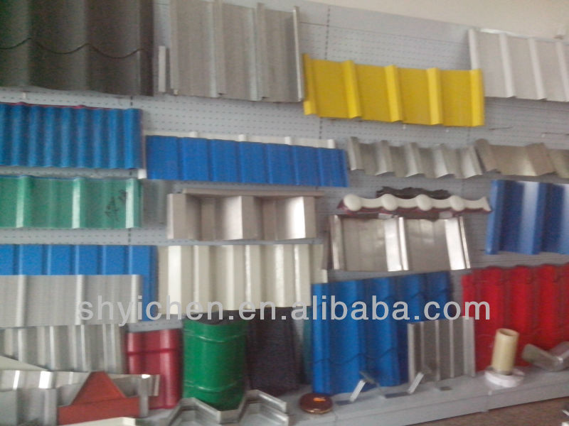 galvanized corrugated steel model