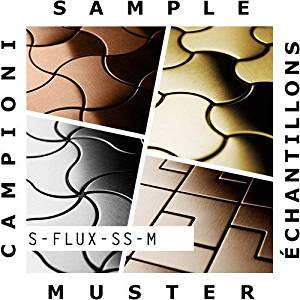 SAMPLE Mosaic S-Flux-S-S-M | Collection Flux Stainless Steel mirror