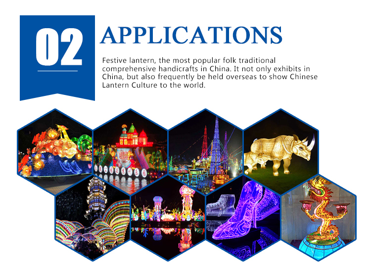 CJ26810AD Miniature landscape lantern for Chinese festival lantern