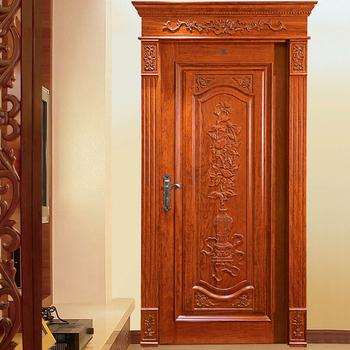 Hs Yh8036 Indian Teak Wood Main Door Designs Buy Indian Main Door