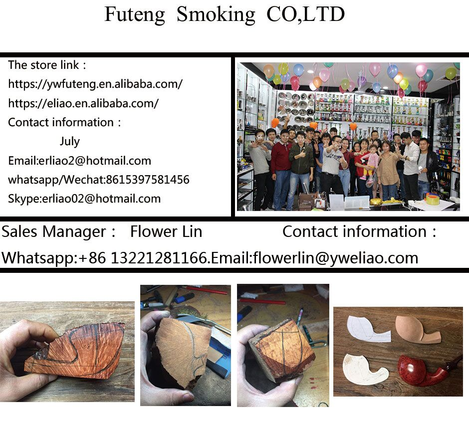 Erliao Resin Tobacco Smoking Pipe Durable Tobacco Cigarettes Cigar Pipes