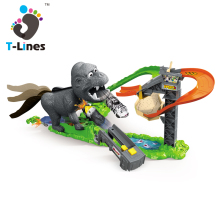 Timeline Track Best quality electric race car track racer toy with English IC