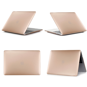 For MacBook Air 13 2018 Cases Gold Metallic Grain, For New MacBook Air Case