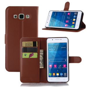 Cell phone accessory for samsung GALAXY A8 Upgraded version leather case/Most popular wallet card slots holder protective case