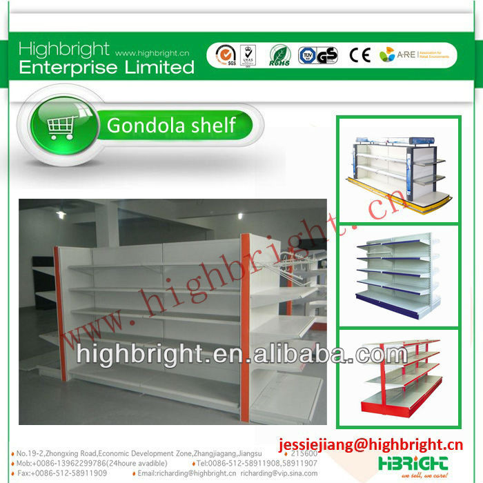 shop shelves design for supermarket