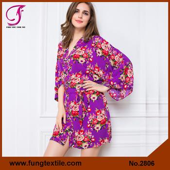 New Floral Satin Silk Pajamas For Women - Buy Silk Pajamas b157fd637