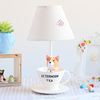 Home decoration child cartoon CORGI resin study table lamp