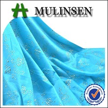 Mulinsen Textile Custom Made Knitting 100% Polyester FDY 4 Way Stretch Printed Hot Stamping Foil for Fabric