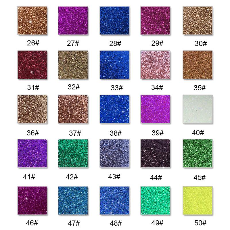 कस्टम लोगो के साथ उच्च गुणवत्ता निजी लेबल आँख छाया पैलेट श्रृंगार पैलेट गत्ता खाली मेकअप पैलेट