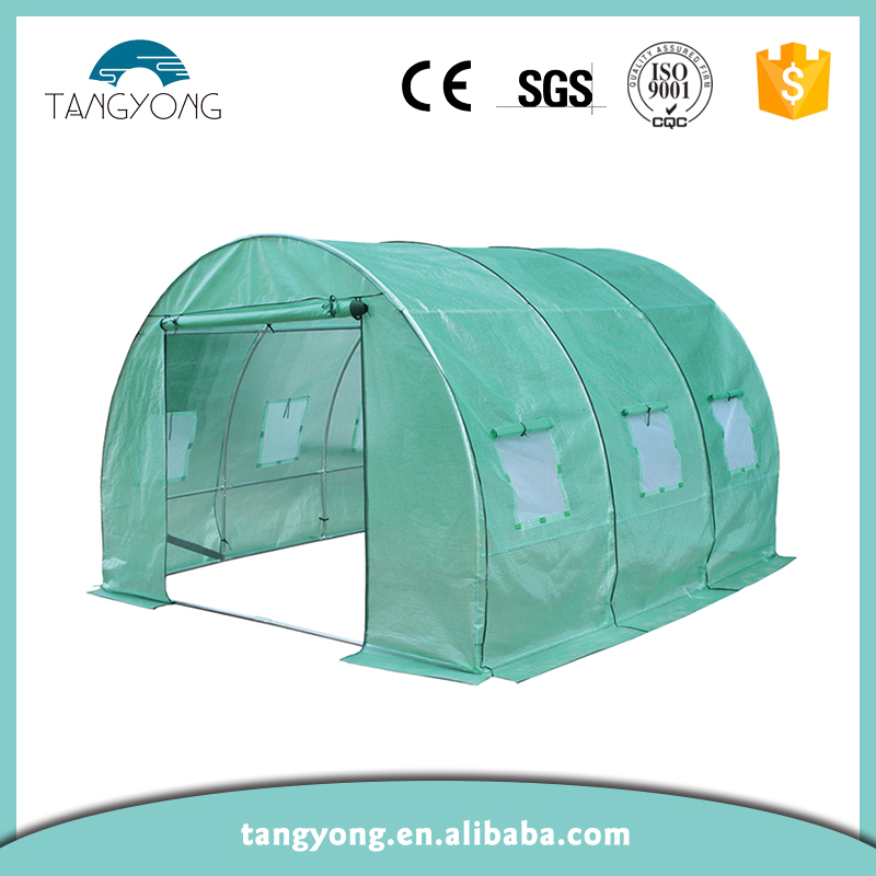 Custom mini glass commercial greenhouse for sale