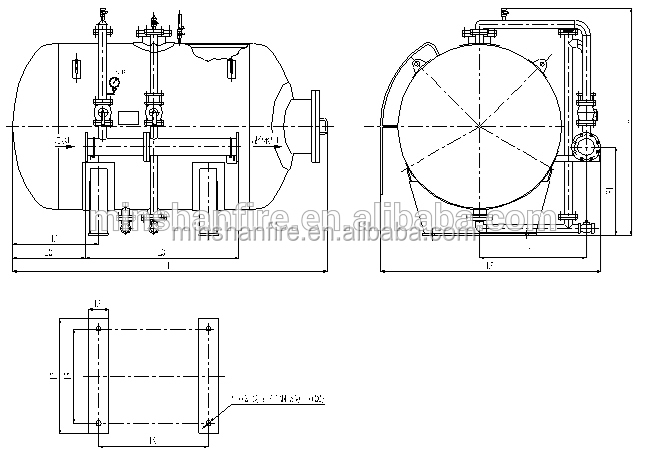 1500l Foam Water Bladder Tank For Fire System View Bladder Tank Minshan Product Details From Fujian Minshan Fire Fighting Co Ltd On Alibaba Com