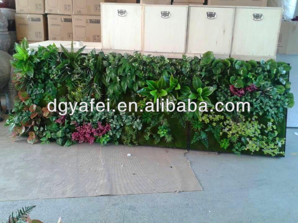 Nieuwe producten binnen buiten decoratie kunstplanten kunstmatige groene muur decoratieve muur - Buiten muur kraan decoratieve ...