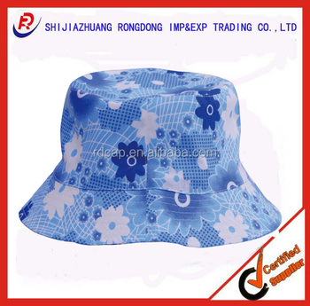 4e71a7ff98e 100% cotton custom sun bob with printing for promotion bucket fishing  boating hats caps men