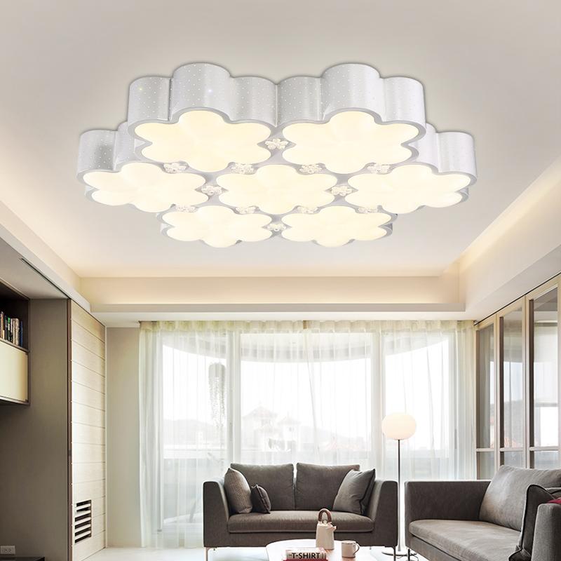 Flush Mount Bedroom Lighting: Flush Mount Ceiling Lights LED Children Bedroom Lamps