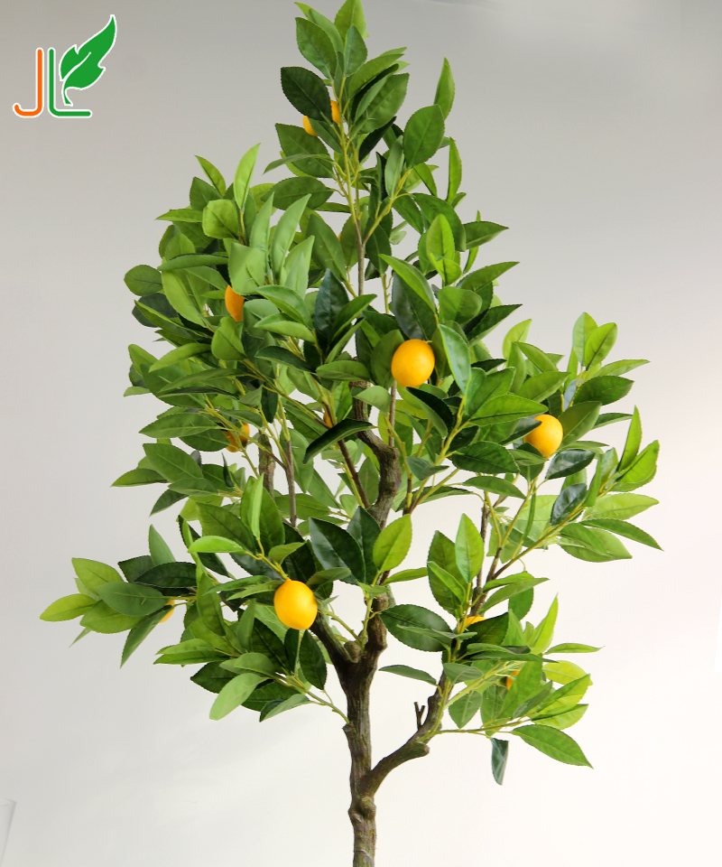 Cheap Wholesale Artificial Fruit Tree Indoor Decoration Trees Artificial Lemon Tree