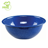 Wholesale Various Color Carbon Steel Dinner Food Dishes Enamel Bowl Plate