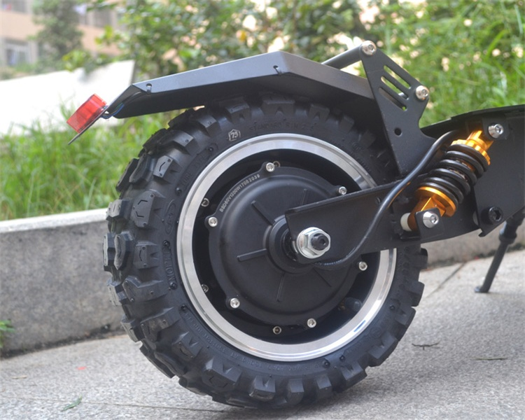 11 Inch Dual Motor Electric Scooter Dual Ultra Motor Scooter