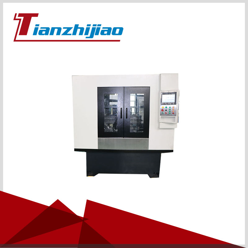 High Precision CNC Automatic grinding machine for valve stem chamfering