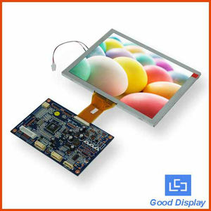 USB 8'' Digital LCD touch screen monitor