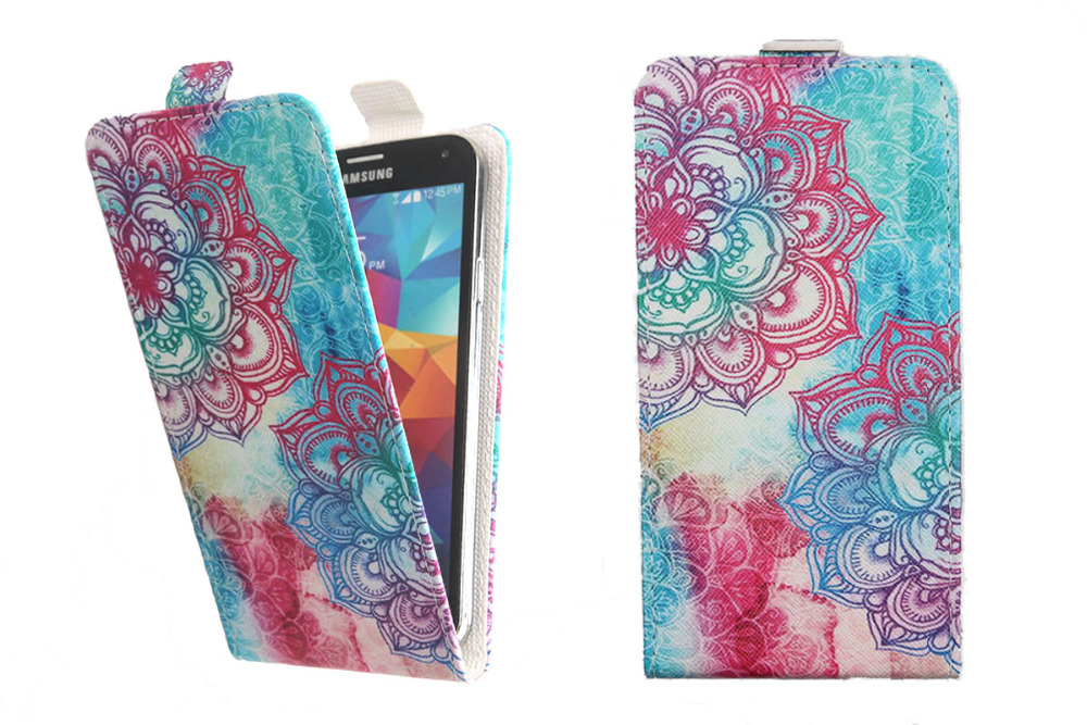 Top Selling 11 Colors Cartoon Pattern Up and Down Flip PU Leather ... 1d7472288539c