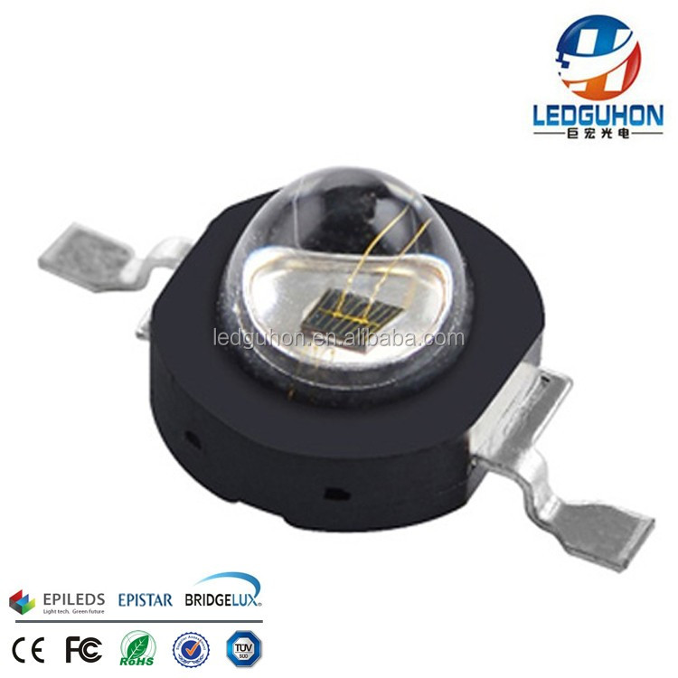Verkoop 60deg high power 3 W IR 740nm led