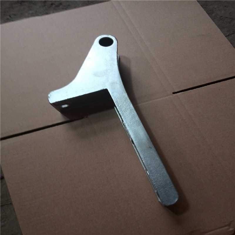investment casting handle with stainless steel and carbon steel